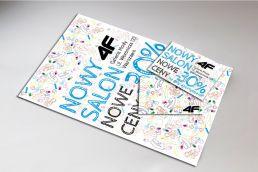 projekt szaty graficznej reklama producent odziezy