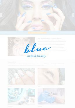 tworzenie stron www kraków beauty blue